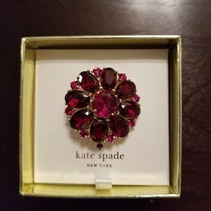 Kate Spade Bright Ideas Brooch Pink - BNWT